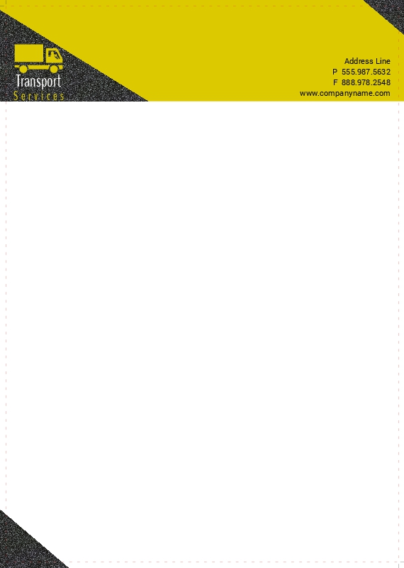 Transport Services Letterhead 9