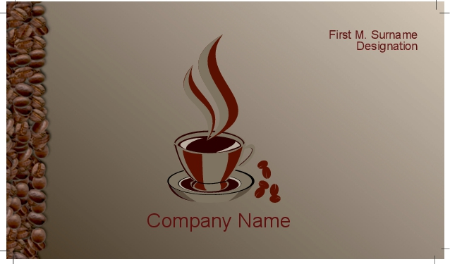 High quality business cards business cards coffee bar 06 colourmoves