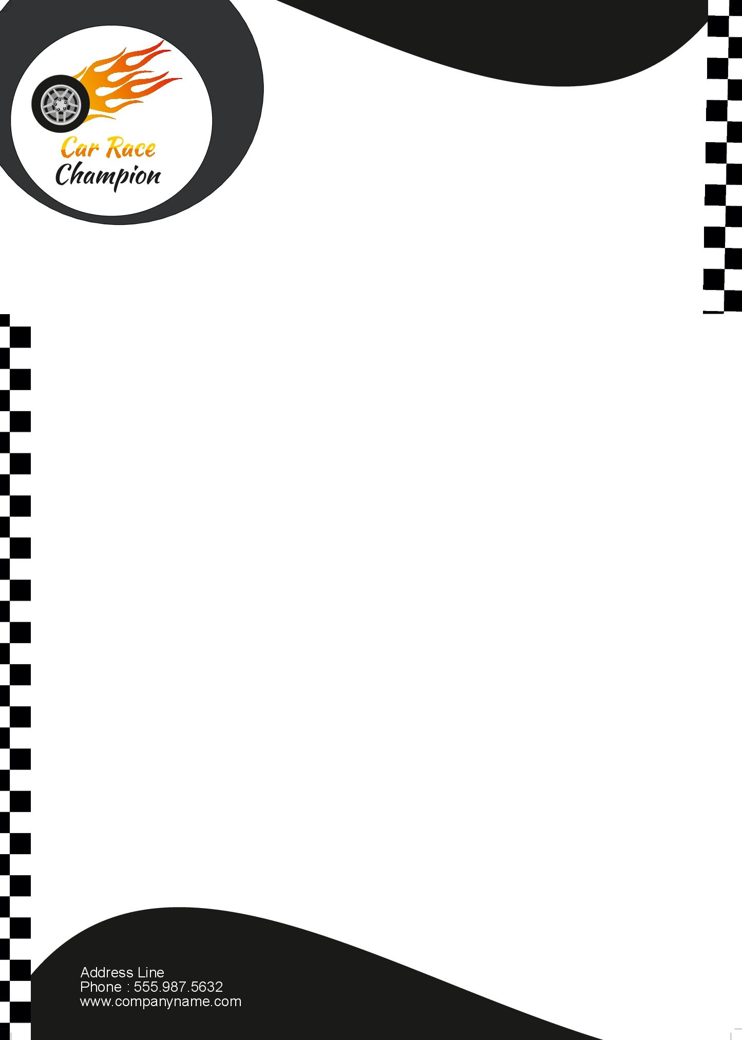 Letterheads carracechampionletterhead carracechampionletterhead spiritdancerdesigns Gallery